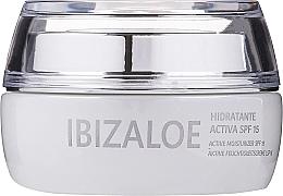 Fragrances, Perfumes, Cosmetics Active Moisturizing Cream - Ibizaloe Moisturizing Cream SPF15