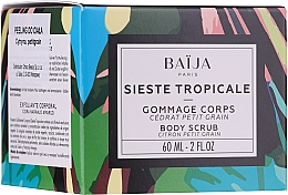 Fragrances, Perfumes, Cosmetics Body Scrub - Baija Sieste Tropicale Body Scrub
