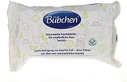 Fragrances, Perfumes, Cosmetics Cleansing Wet Wipes - Bubchen Sensitive Care
