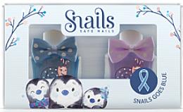 Fragrances, Perfumes, Cosmetics Kids Nail Polish Set 2x10, 5 ml - Snails Mini Bebe Penguin