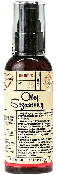 Sesame Oil - The Secret Soap Store Sesame Oil 100% — photo N1