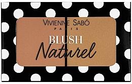 Fragrances, Perfumes, Cosmetics Double Blush - Vivienne Sabo Naturel Blush Duo