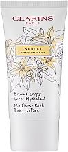 Fragrances, Perfumes, Cosmetics Moisturizing Body Balm with Neroli Scent - Clarins Moisture-Rich Body Lotion Neroli