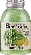 "Fragrances, Perfumes, Cosmetics Bath Caviar ""Bamboo & Lemon"" - Fergio Bellaro Bamboo and Lemon Bath Caviar"