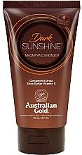 Fragrances, Perfumes, Cosmetics Sun Lotion - Austraian Gold Sunscreen Dark Magnifying Bronzer Professional Lotion