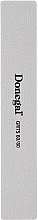 Fragrances, Perfumes, Cosmetics Wide Banana Nail File 80/80, 17,8 cm, 9203, white - Donegal