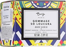 "Fragrances, Perfumes, Cosmetics Body Scrub ""Citron & Passion Fruit"" - Baija So Loucura Citron Passion Fruit Body Scrub"