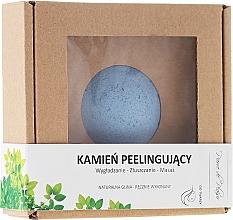 Fragrances, Perfumes, Cosmetics Natural Face Scrubbing Stone, blue - Pierre de Plaisir Natural Scrubbing Stone Face