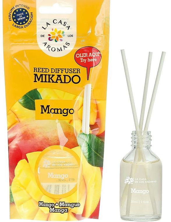 """Reed Diffuser """"Mango"""" - La Casa de Los Aromas Mikado Reed Diffuser"""