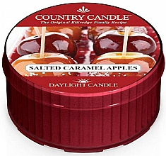 Fragrances, Perfumes, Cosmetics Salted Caramel Apple Tea Light - Country Candle Salted Caramel Apple Daylight