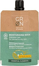 Fragrances, Perfumes, Cosmetics Face Mask - GRN Essential Elements Honey & Hemp Cream Mask