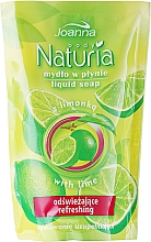 "Fragrances, Perfumes, Cosmetics Liquid Soap ""Lime"" - Joanna Naturia Body Lime Liquid Soap (Refill)"