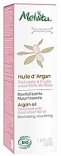Fragrances, Perfumes, Cosmetics Organic Argan Oil - Melvita Organic Nourishing Argan Oil Perfumed With Rose Essential Oil