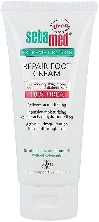 Foot Cream for Very Dry Skin - Sebamed Extreme Dry Skin Repair Foot Cream 10% Urea