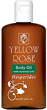 Fragrances, Perfumes, Cosmetics Body Oil with Citrus Oils - Yellow Rose Body Oil Hesperides