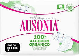 Fragrances, Perfumes, Cosmetics Pantiliners, 9 pcs - Ausonia Cotton Protection