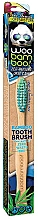 Fragrances, Perfumes, Cosmetics Toothbrush, soft, blue+green - Woobamboo Toothbrush Zero Waste Adult Bamboo Soft Bristle