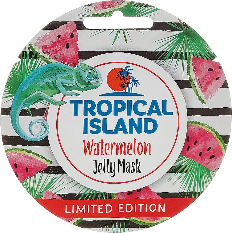 "Facial Mask ""Watermelon"" - Marion Tropical Island Watermelon Jelly Mask"