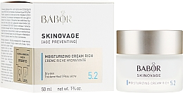 Fragrances, Perfumes, Cosmetics Moisturizing Face Cream - Babor Skinovage Moisturizing Cream Rich
