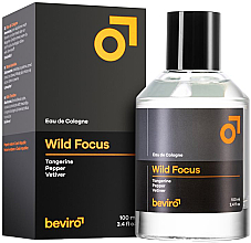 Fragrances, Perfumes, Cosmetics Beviro Wild Focus - Eau de Cologne
