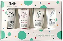 Fragrances, Perfumes, Cosmetics Set - Naif Baby Kit (sh/15ml + cr/15ml + cr/15ml + sh/gel/15ml)