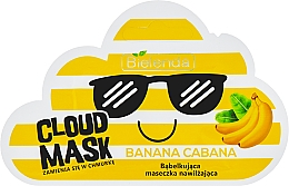 "Fragrances, Perfumes, Cosmetics Facial Cloud Mask ""Banana"" - Bielenda Cloud Mask Banana Cabana"