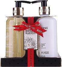 Fragrances, Perfumes, Cosmetics Set - Baylis & Harding Sweet Mandarine and Grapefruit (h/wash/300ml + b/lot/300ml)