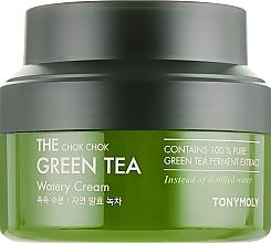 Fragrances, Perfumes, Cosmetics Green Tea Cream - Tony Moly The Chok Chok Green Tea Watery Cream