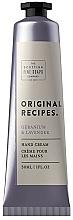 Fragrances, Perfumes, Cosmetics Hand Cream - Scottish Fine Soaps Original Recipes Geranium & Lavender Hand Cream