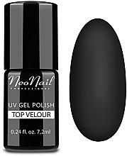 "Fragrances, Perfumes, Cosmetics Gel Polish Top Coat ""Matte"" (velor effect) - NeoNail Professional Top Matte Velour Uv Gel Polish"