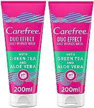 Fragrances, Perfumes, Cosmetics Set - Carefree Aloe Vera Intimate Gel (2xgel/200ml)