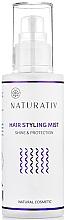 Fragrances, Perfumes, Cosmetics Hair Spray - Naturativ Hair Styling Mist
