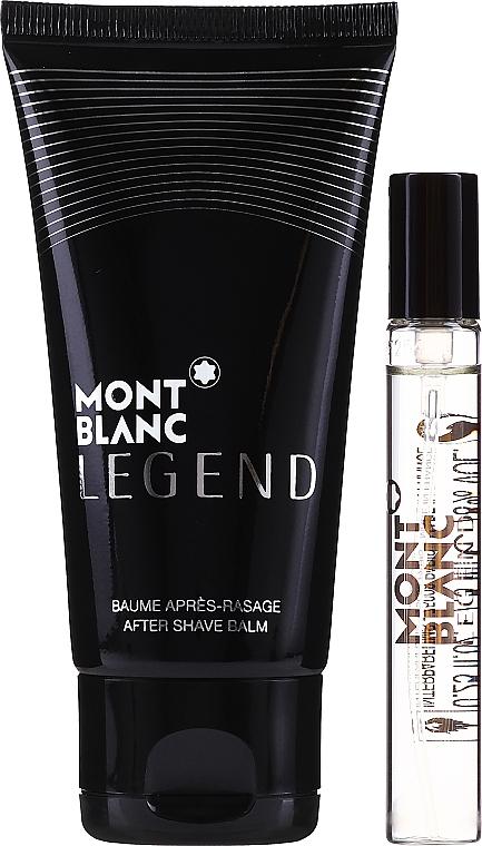 Montblanc Legend - Set (edt/7,5 ml + a/sh/b/50 ml + bag) — photo N2