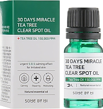Fragrances, Perfumes, Cosmetics Face Oil - Some By Mi 30 Days Miracle Tea Tree Clear Spot Oil