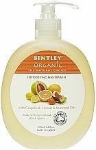 "Fragrances, Perfumes, Cosmetics Liquid Hand Soap ""Detox"" - Bentley Organic Body Care Detoxifying Handwash"