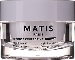 Fragrances, Perfumes, Cosmetics Intensive Moisturizing Facial Gel Clay - Matis Reponse Corrective Night Reveal 10 Overnight Corrective Mask