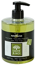 Fragrances, Perfumes, Cosmetics Liquid Soap with Olive Oil - Saryane Olive & Moi Liquid Soap