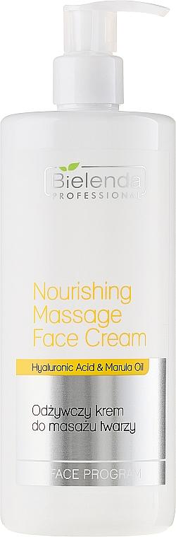 Massage Nourishing Face Cream - Bielenda Professional Face Program Nourishing Massage Face Cream