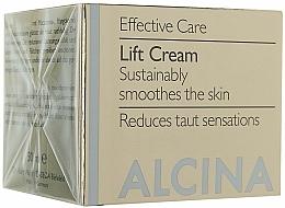 Fragrances, Perfumes, Cosmetics Anti-Aging Lifting Face Cream - Alcina E Lifting Creme