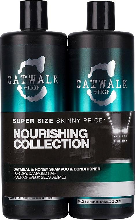 Set - Tigi Catwalk Oatmeal & Honey (shm/750ml + cond/750ml)