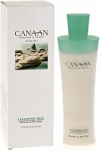 Fragrances, Perfumes, Cosmetics Cleansing Milk for Normal & Dry Skin - Canaan Minerals & Herbs Cleansing Milk Normal to Dry Skin
