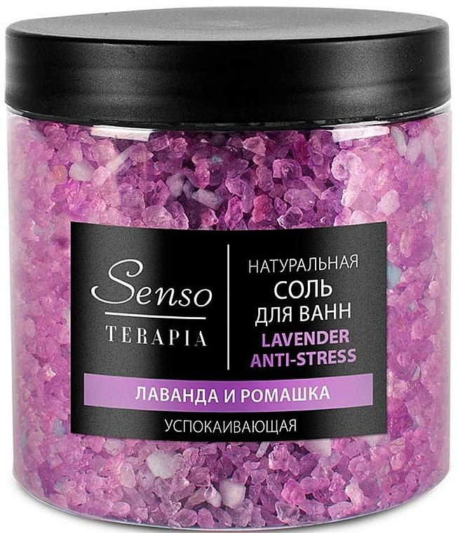 Anti-Stress Lavender & Chamomile Bath Salt - Senso Terapia Lavender Anti-stress — photo N1