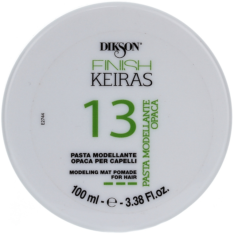 Modeling Matte Hair Paste - Dikson Finish Keiras Pasta Modellante Opaca 13