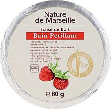 Fragrances, Perfumes, Cosmetics Bath Bomb with Strawberry Scent - Nature de Marseille Strawberries