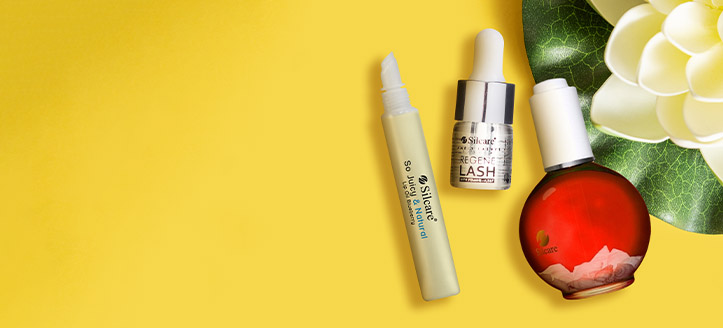 Buy two Silcare products and get a free eyelash oil