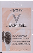 Fragrances, Perfumes, Cosmetics Double Glow Peel Mask - Vichy Quenching Mineral Mask