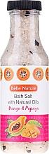 "Fragrances, Perfumes, Cosmetics Bath Salt ""Mando and Papaya"" - Belle Nature Bath Salt"