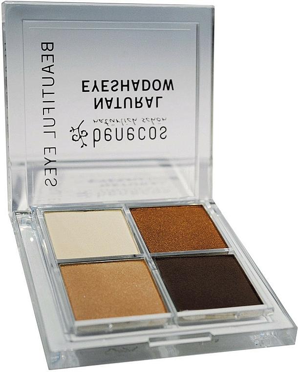 Eyeshadow Quatro - Benecos Natural Quattro Eyeshadow