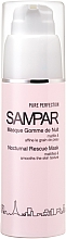 Fragrances, Perfumes, Cosmetics Anti-Imperfection Facial Night Mask - Sampar Pure Perfection Nocturnal Rescue Mask