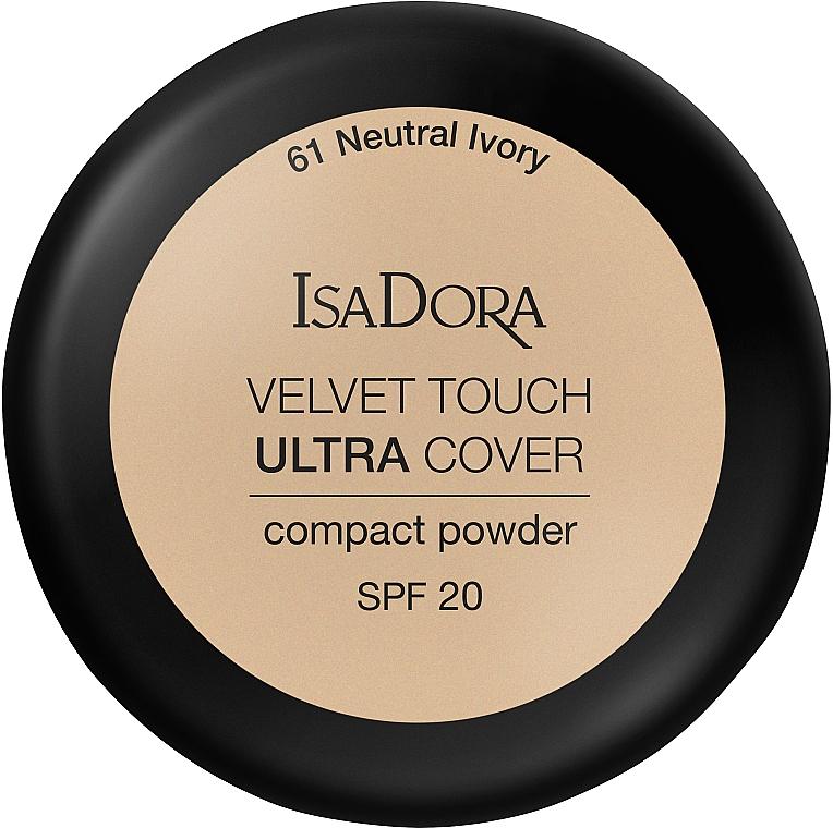 Face Powder - IsaDora Velvet Touch Ultra Cover Compact Powder SPF 20